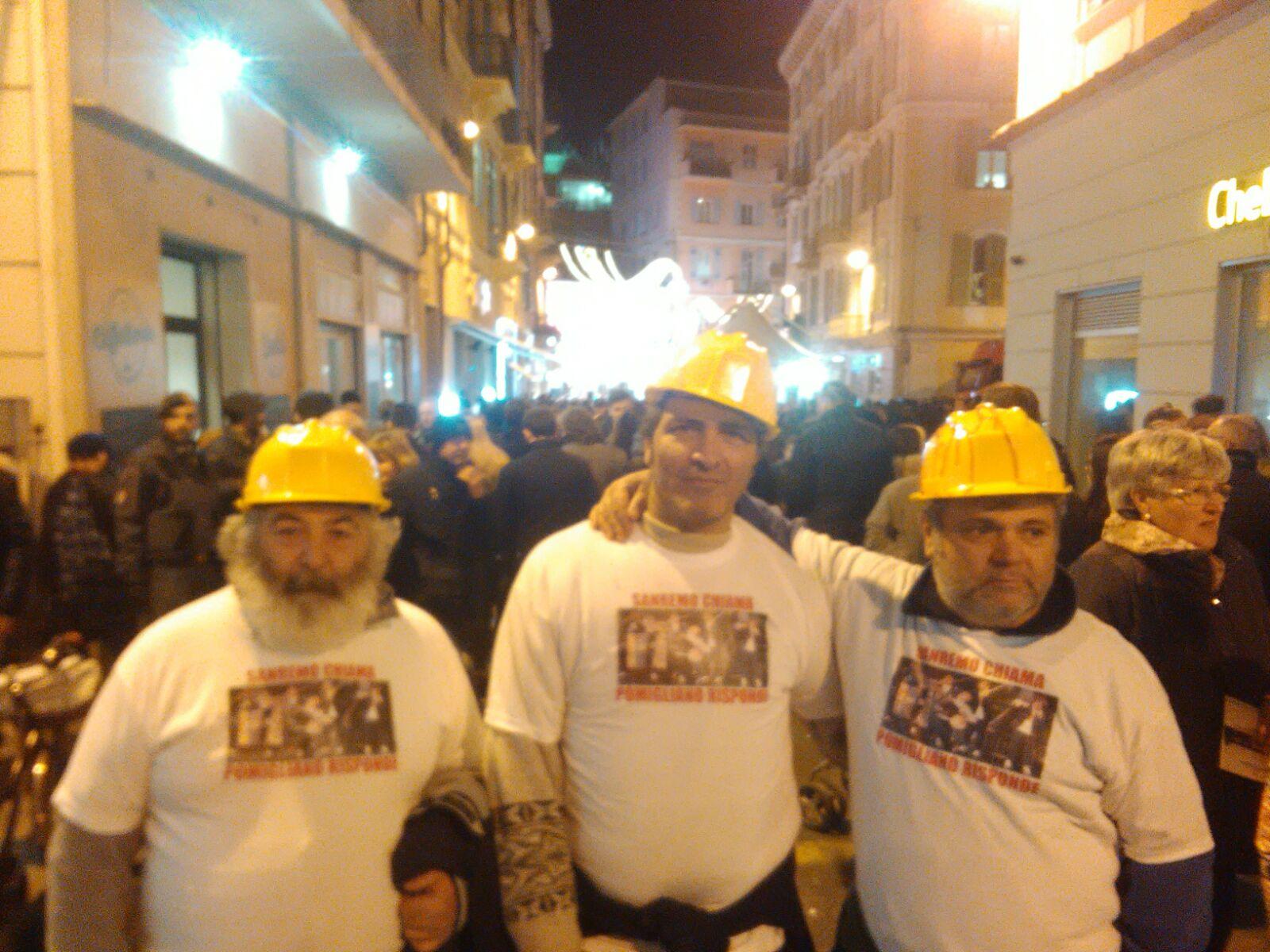 Operai a Sanremo