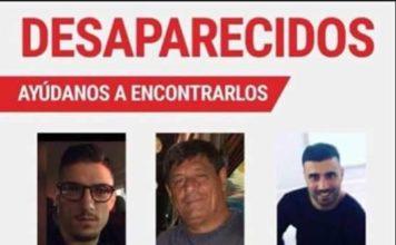 I tre napoletani scomparsi in Messico