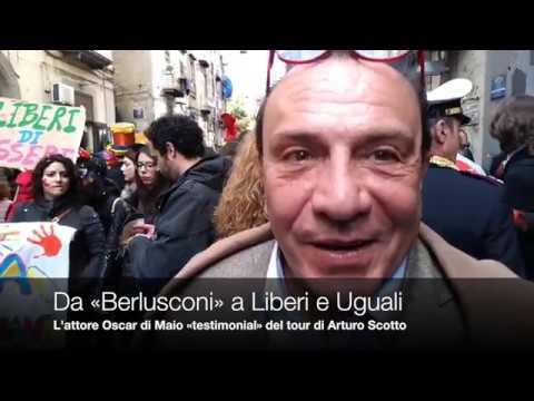 Oscar di Maio, da Berlusconi a LeU