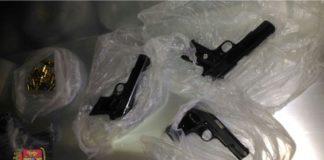 armi nella bara