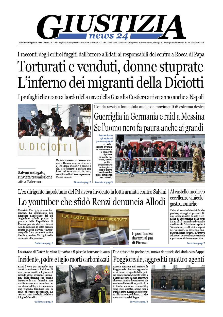 Di Cosa Parliamo Oggi Nel Quotidiano Digitale Giustizia News24