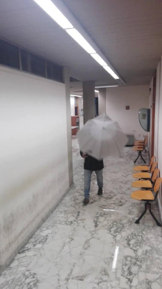 Tribunale Catania Pioggia