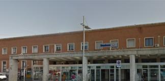 Caserta fulmine in stazione