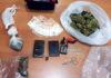 La droga sequestrata a Vico