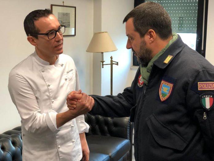 Salvini e Sorbillo