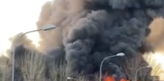 Incendio Casoria