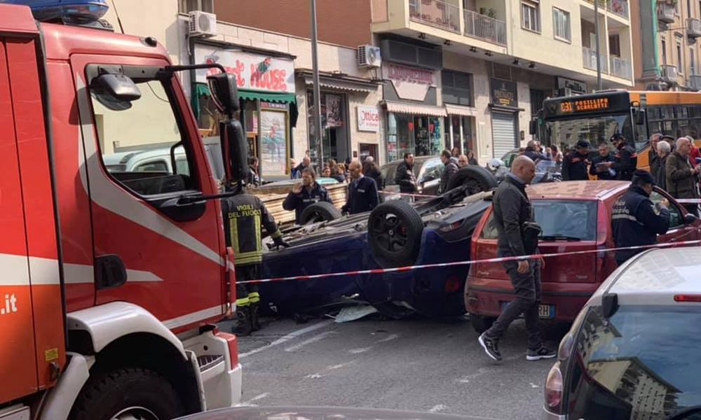 Incidente via Cilea