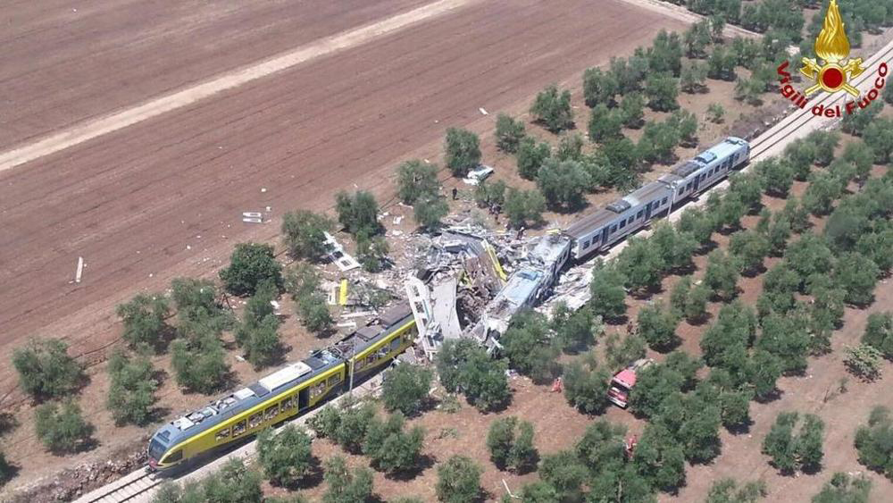 Scontro treni