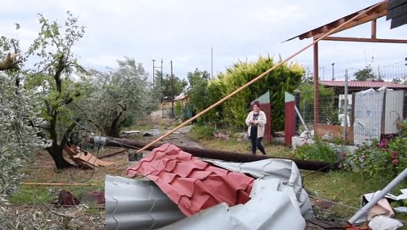 Tornado Grecia