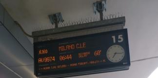 incendio treni ritardo