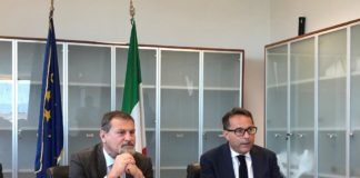 Massimo Osanna e Pierpaolo Filippelli