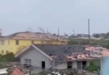 Bahamas Dorian uragano