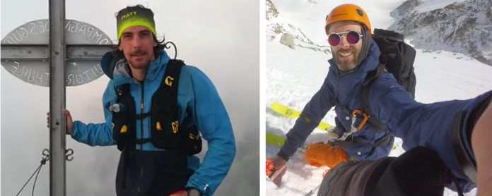Valanga Monte Bianco