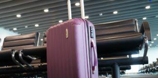 trolley aereo valigia