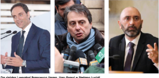 Francesco Urraro, Ugo Grassi e Stefano Lucidi