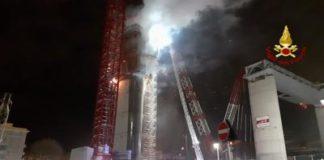 incendio ponte morandi