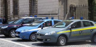 polizia, carabinieri e finanza