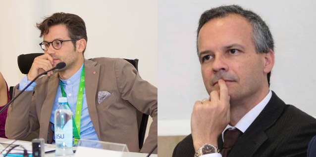 Gianluca Rospi e Nunzio Angiola