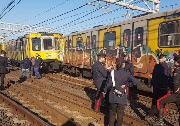 Metropolitana Napoli incidente