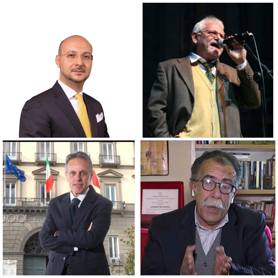 Luigi Napolitano, Giuseppe Aragno, Sandro Ruotolo, Salvatore Guang