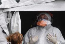 Coronavirus - Tende al Cotugno