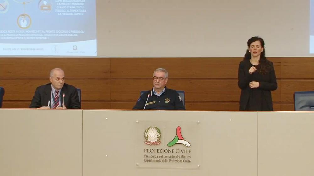 Conferenza protezione civile