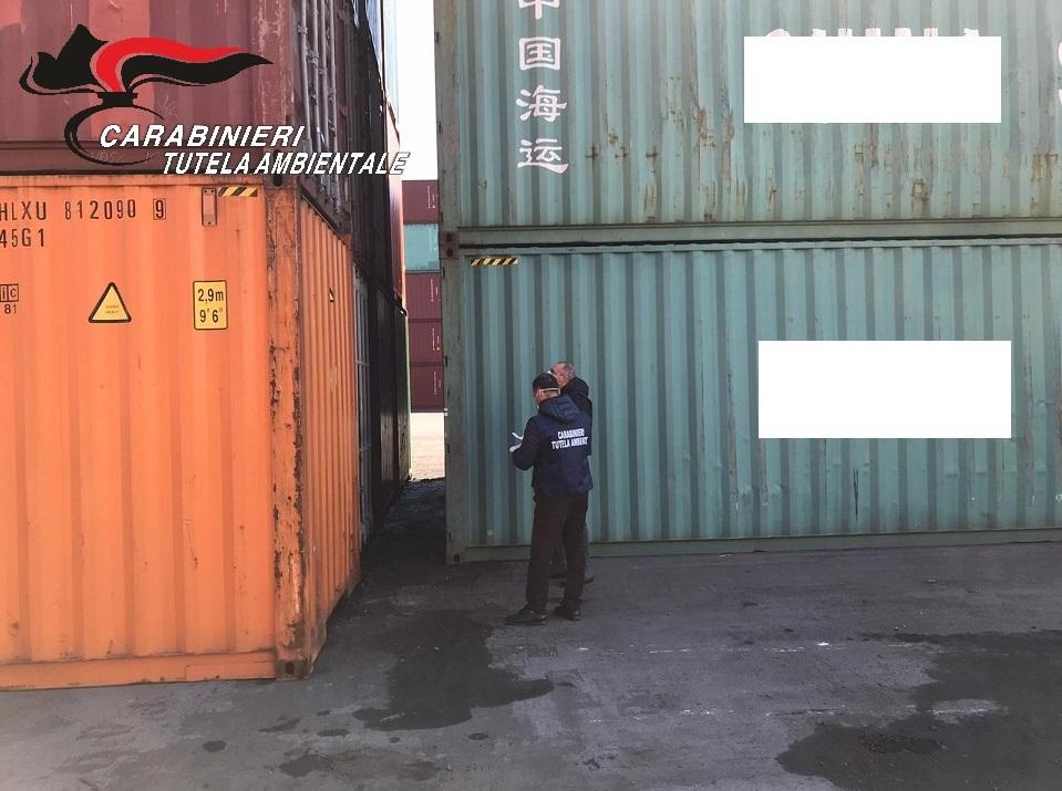 container sequestrati