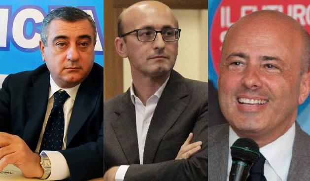 Cesaro, Casillo, Pentangelo