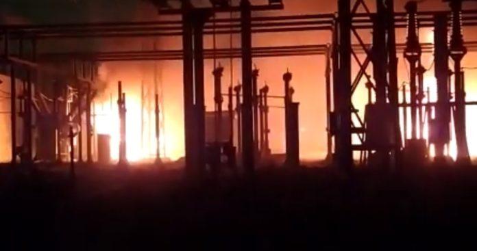 incendio centrale elettrica pozzuoli
