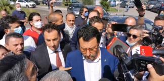 Salvini a Santa Maria