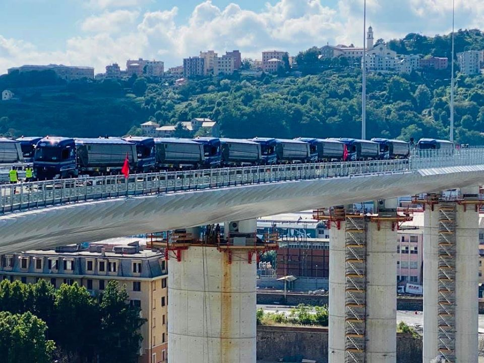 Collaudo Ponte Genova