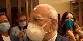 Vincenzo De Luca sul Coronavirus