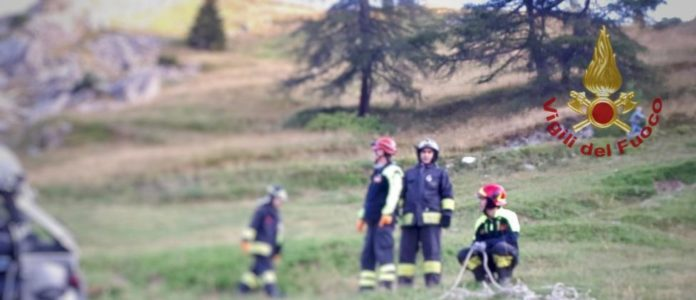 Castelmagno incidente