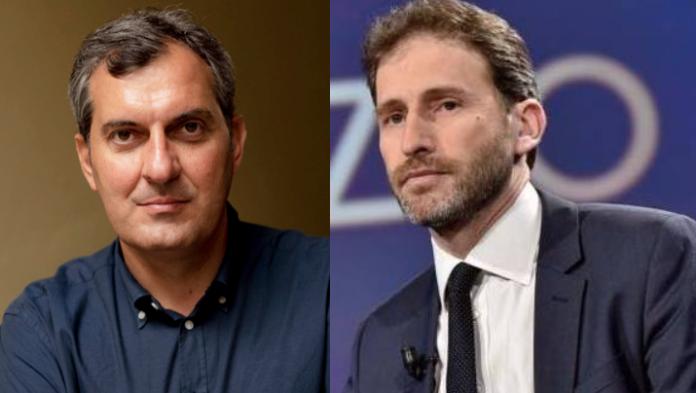 Mario Calabresi e Davide Casaleggio