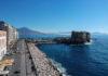 Veduta panoramica dell'area di Castel dell'Ovo (foto Kontrolab)