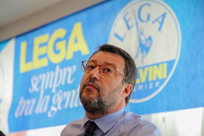 Matteo Salvini (foto Kontrolab)