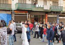 protesta ercolano dpcm ristori