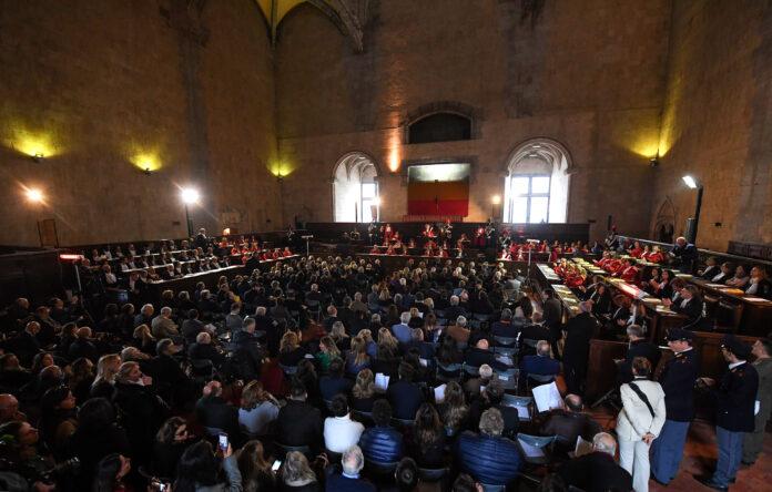 anno giudiziario 2020 Napoli (Foto Kontrolab)