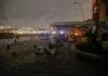 Mareggiata a Napoli (foto Kontrolab)