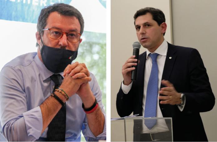 Matteo Salvini e Riccardo Guarino